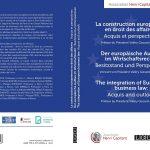 der-europaische-aufbau-im-wirtschaftsrecht-besitzstand-und-perspektiven