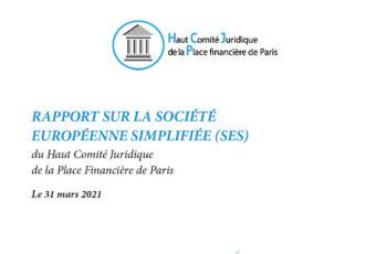 Europäisches Wirtschaftsgesetzbuch / Europäische Vereinfachte Gesellschaft (SES)